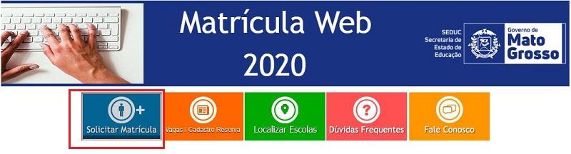 Matrícula Online SEDUC MT