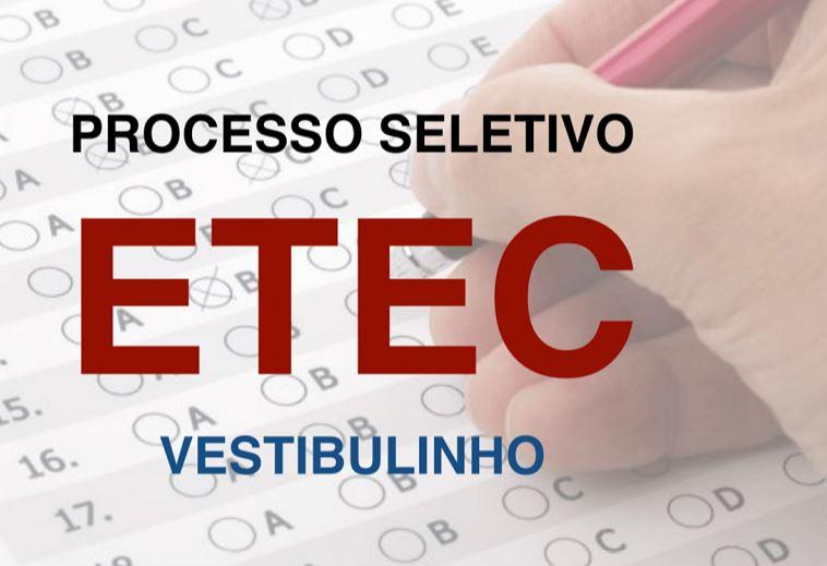 Provas Vestibulinho ETEC